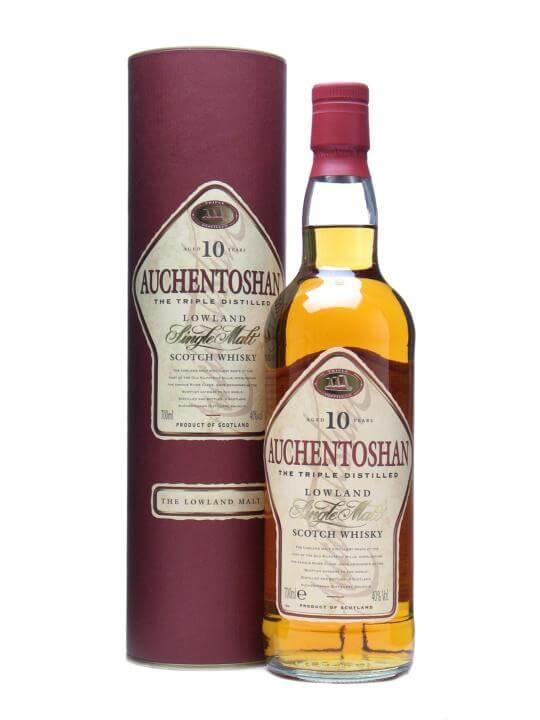 Auchentoshan 10 Year Old Scotch Whisky The Whisky Exchange
