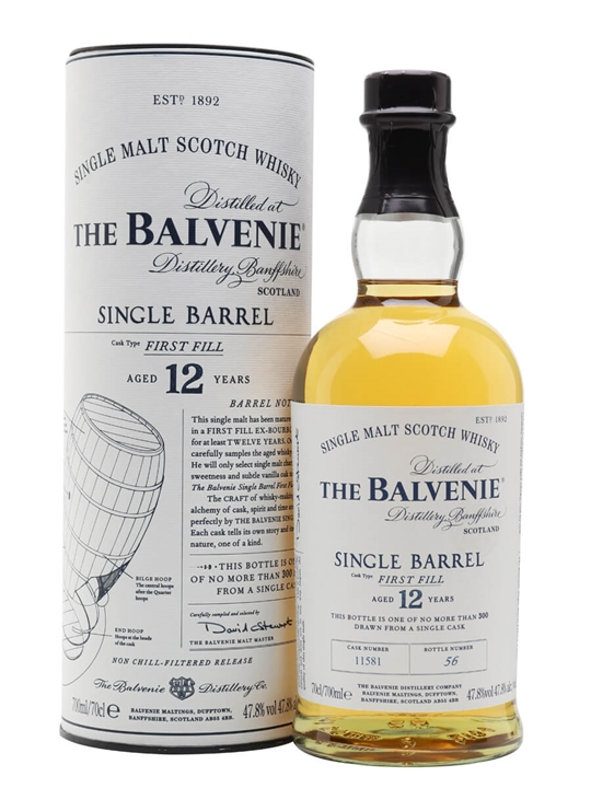 Balvenie 25 yo single barrel Balvenie 25 yo Single Barrel - Single Malt Whisky Schottland, Speyside -
