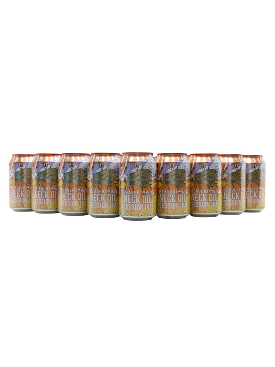 Beavertown Neck Oil Session IPA / Case of 24 Cans