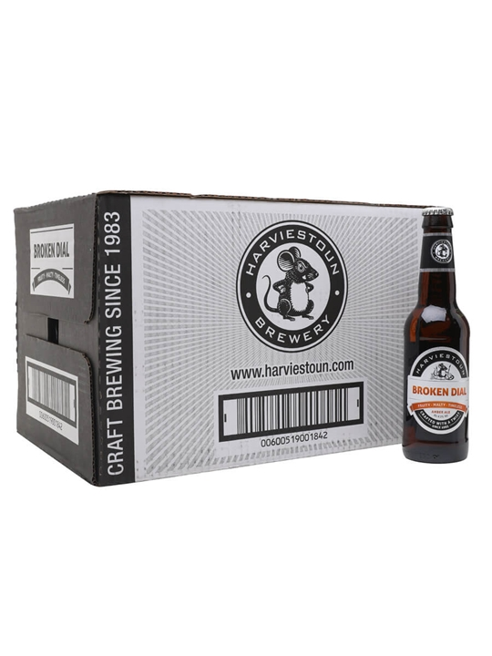 Harviestoun Broken Dial Beer/ Case of 24 Bottles