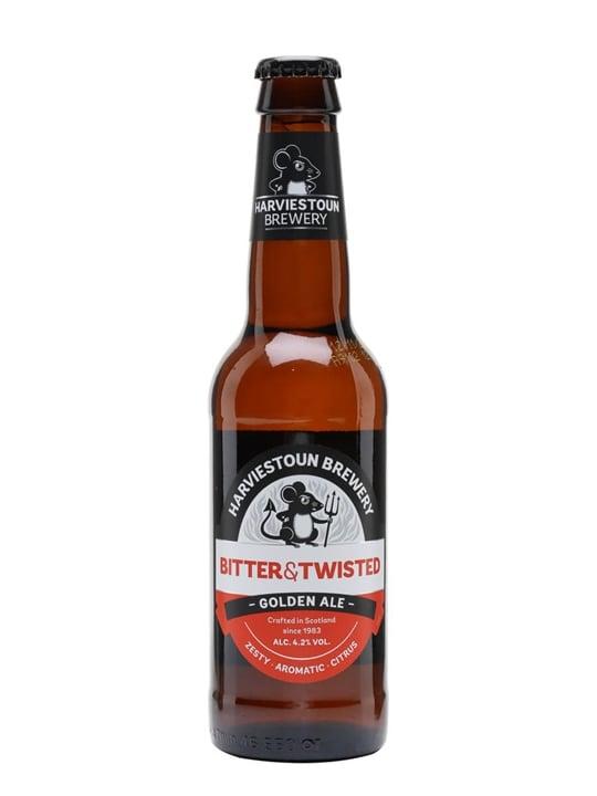 Harviestoun Bitter & Twisted Beer / Single Bottle
