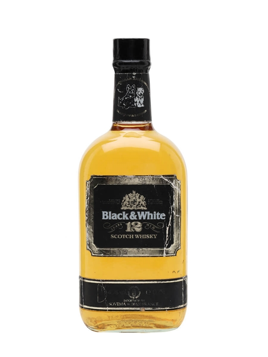 how to drink black and white whisky