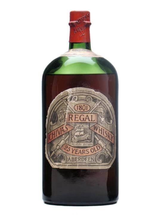 eb6f0062b0f Chivas Regal 25 Year Old Pre-Prohibition (Before 1920). 113cl / 43%. Blended  Scotch Whisky