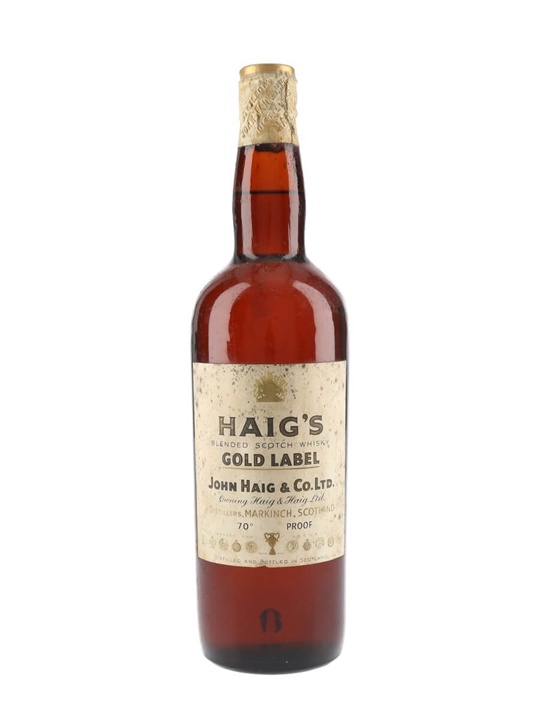 Haig Gold Label Bot 1960s Spring Cap The Whisky Exchange