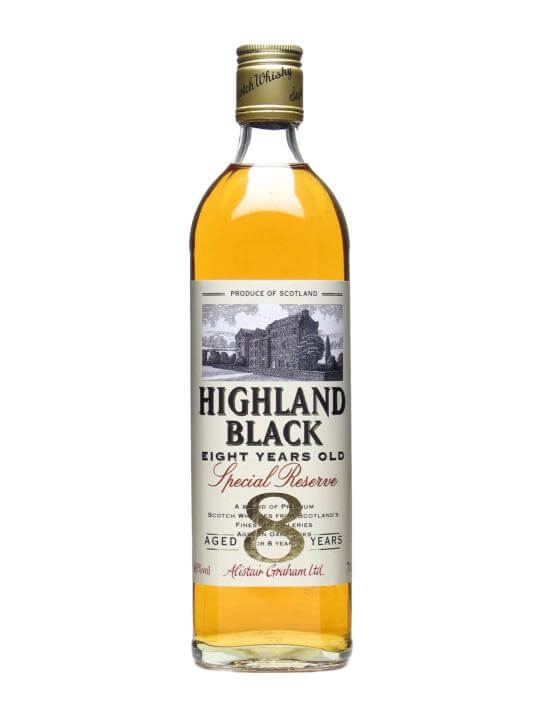 Highland Black 8 Year Old Special Reserve