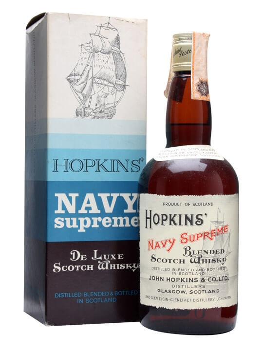 Hopkins Navy Supreme Bot 1970s The Whisky Exchange