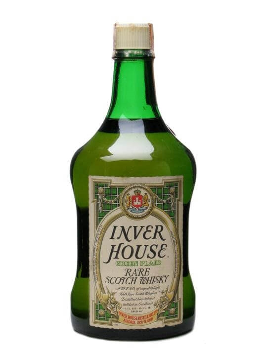 Inver House Green Plaid Bot 1980s The Whisky Exchange