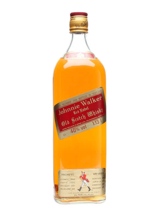 34fbac25e1961 Johnnie Walker Red Label - Bot.1980s   The Whisky Exchange