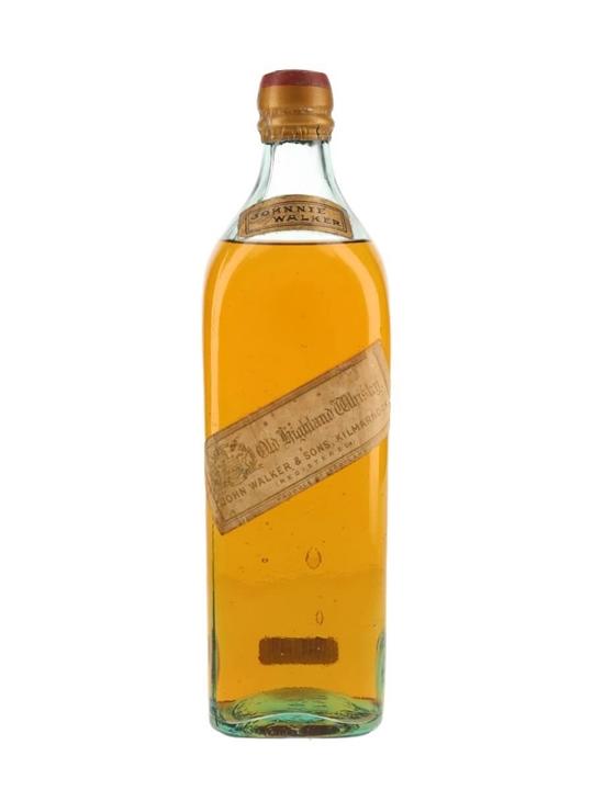 johnnie walker white label - bot.~1900 : the whisky exchange
