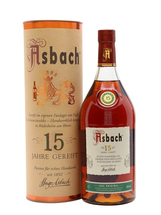 Asbach 15 Year Old Brandy The Whisky Exchange