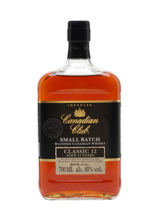 Canadian Club Classic 12 Year Old The Whisky Exchange