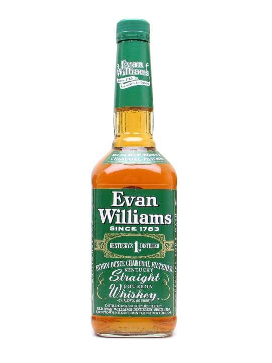 Evan Williams Green Label : The Whisky Exchange
