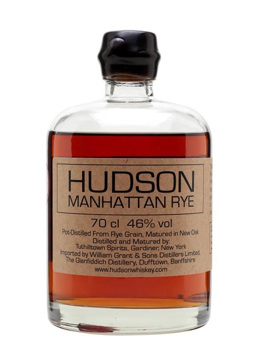 Hudson Manhattan Rye / Tuthilltown Distillery