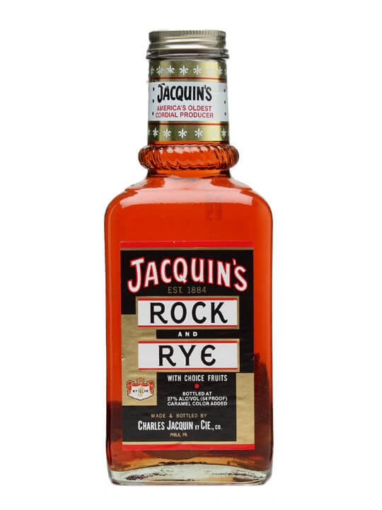 Jacquin S Rock Amp Rye The Whisky Exchange