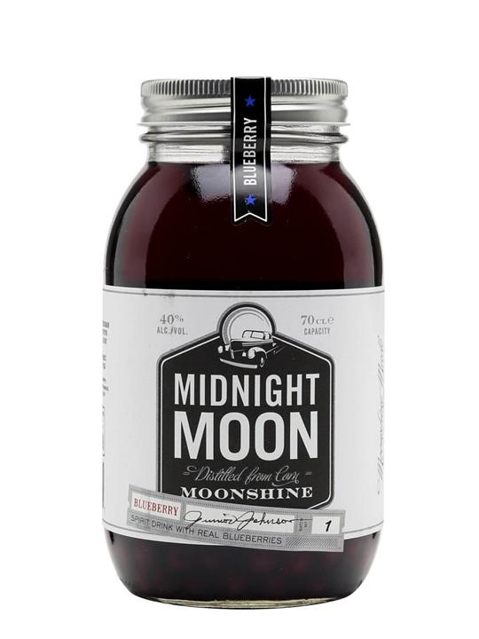 Midnight Moon Blueberry Moonshine Junior Johnson S The