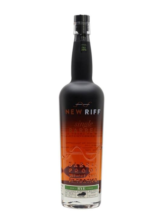 New Riff Single Barrel Proof Rye (51.3%)
