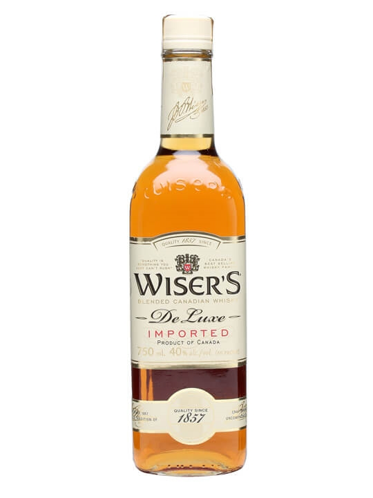 Wiser S De Luxe Canadian Whisky The Whisky Exchange