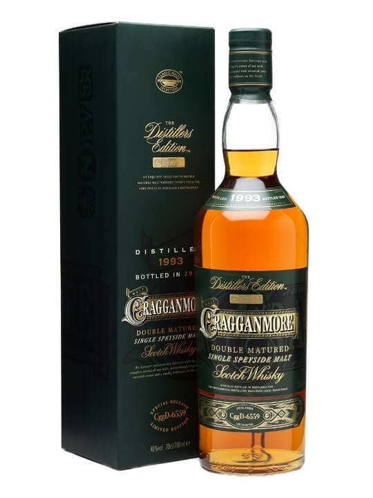 Cragganmore 1997 distillers edition scotch whisky: the whisky.