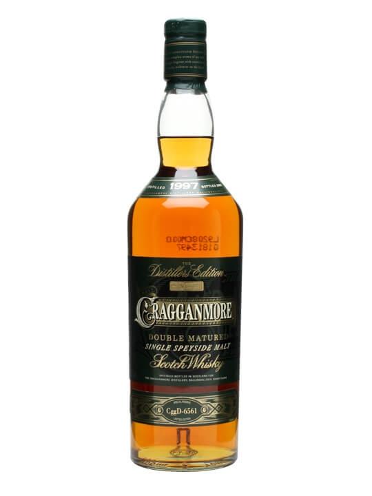 Cragganmore distiller's edition 2015 scotch whisky.
