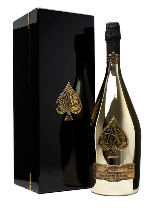 Armand de Brignac Ace of Spades Champagne - Brut Gold Magnum : The