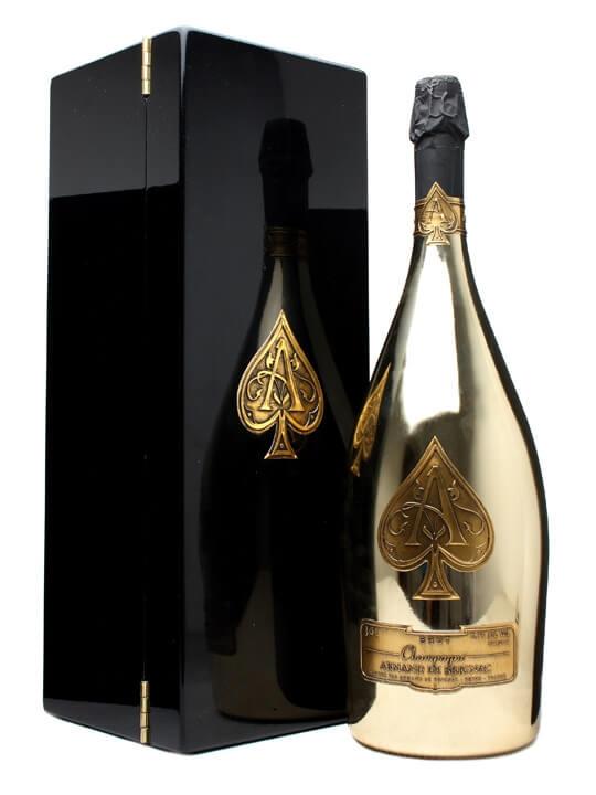 Armand de Brignac Brut Gold / Ace of Spades Champagne / Jero