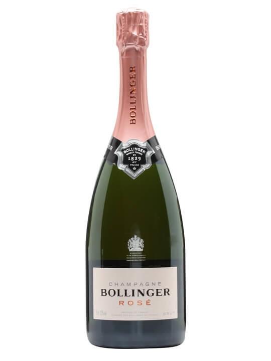 bollinger rose nv champagne   the whisky exchange