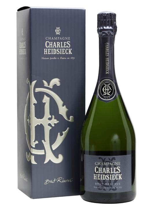Charles Heidsieck Brut Reserve Champagne / Gift Box