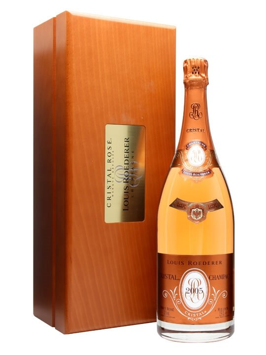 Louis Roederer Cristal Rose 2005 Champagne Magnum The