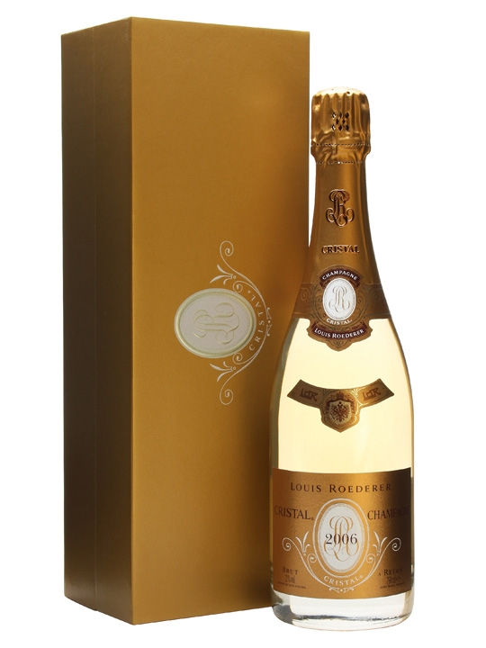 Louis Roederer Cristal 2006 Champagne Gift Box The