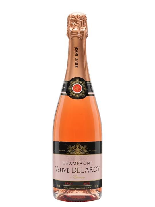 Veuve Delaroy Brut Rose Champagne