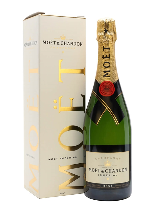 moet chandon brut imperial nv champagne gift box the whisky exchange. Black Bedroom Furniture Sets. Home Design Ideas