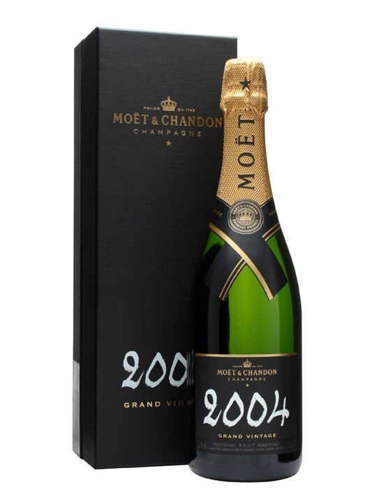 Moet & Chandon 2004 Grand Vintage Champagne : The Whisky