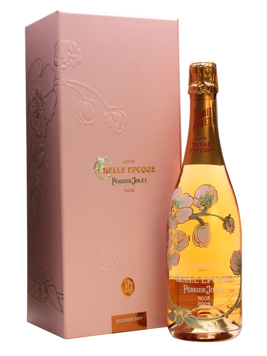 Perrier-Jouet Belle Epoque 2004 Rose Champagne Gift Boxed : The ...