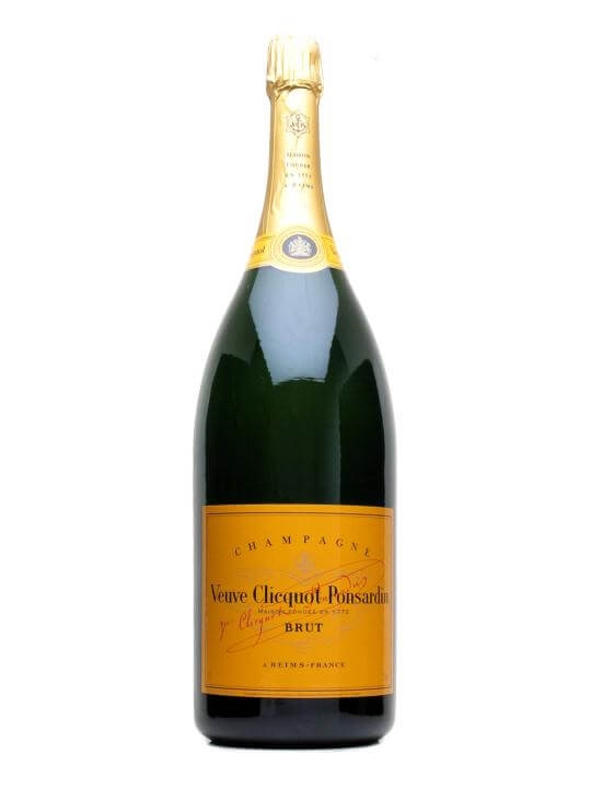Veuve Clicquot Yellow Label NV Champagne / Methuselah