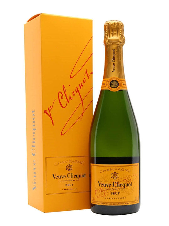 Veuve Clicquot Yellow Label NV Champagne / Gift Box