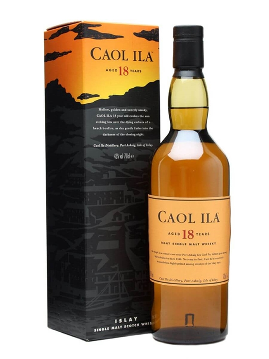 Caol Ila 18 Year Old Scotch Whisky The Whisky Exchange