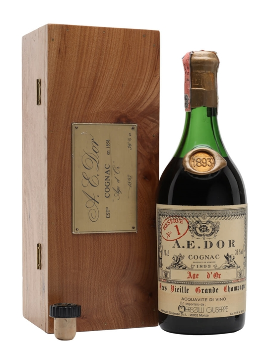 Ae Dor No 1 Cognac 1893 Vintage The Whisky Exchange