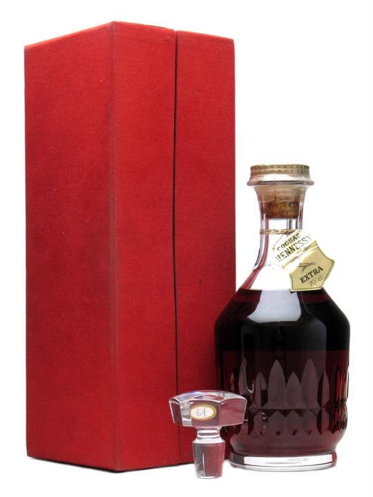 Hennessy Extra Cognac Baccarat Crystal Decanter The