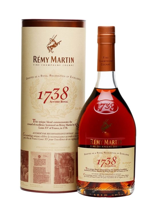remy martin 1738 accord royal cognac the whisky exchange. Black Bedroom Furniture Sets. Home Design Ideas