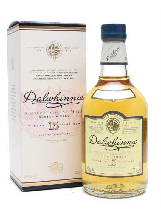 Dalwhinnie 15 Year Old / Small Bottle
