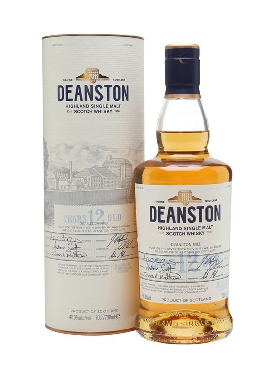 Deanston 12 Year Old / Unchillfiltered