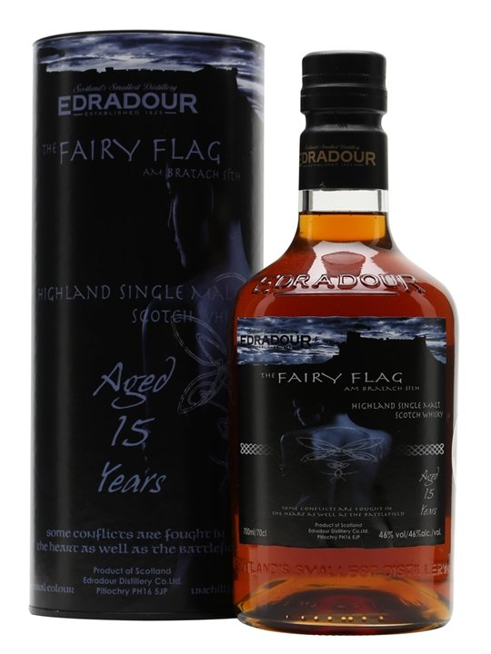 Edradour 15 Year Old - The Fairy Flag Scotch Whisky : The Whisky ...