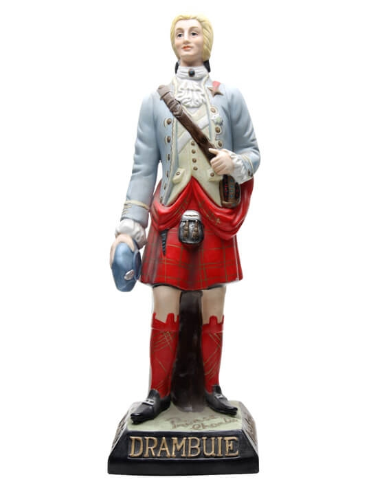 Drambuie Prince Charlie Figurine The Whisky Exchange