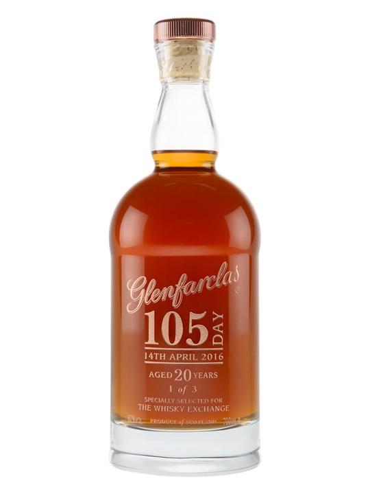 Glenfarclas 105 / 20 Year Old / Glencairn Crystal Bottle