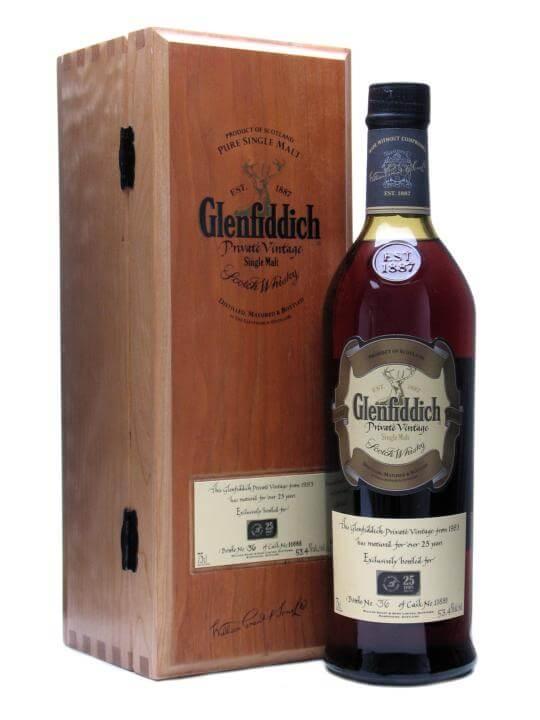 glenfiddich 1983 25 year old dubai duty free sherry cask scotch