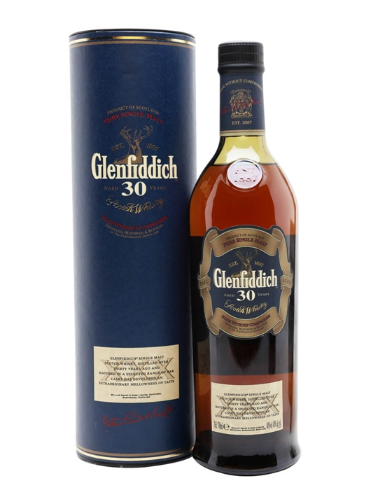 6e1717819d5 Glenfiddich 30 Year Old - Bot.2007 Scotch Whisky   The Whisky Exchange