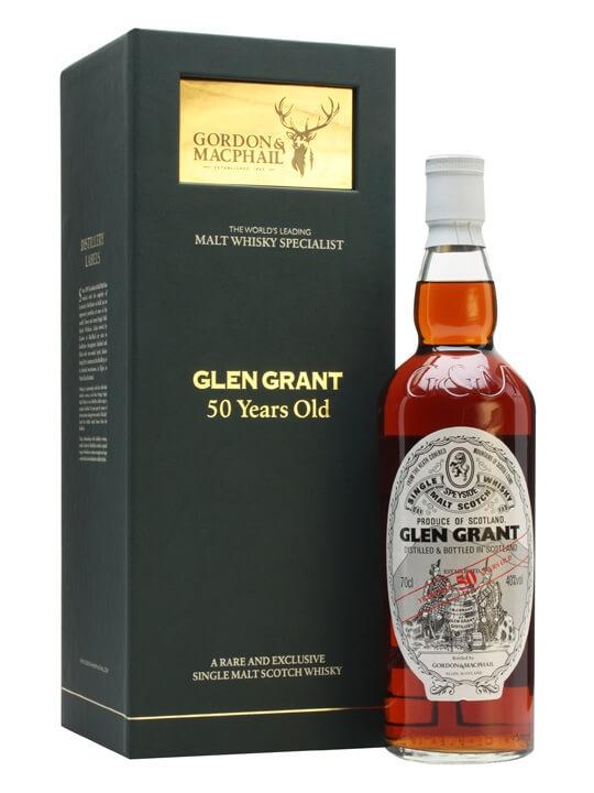 50 Year Old Whiskey >> Glen Grant 50 Year Old Gordon Macphail Scotch Whisky