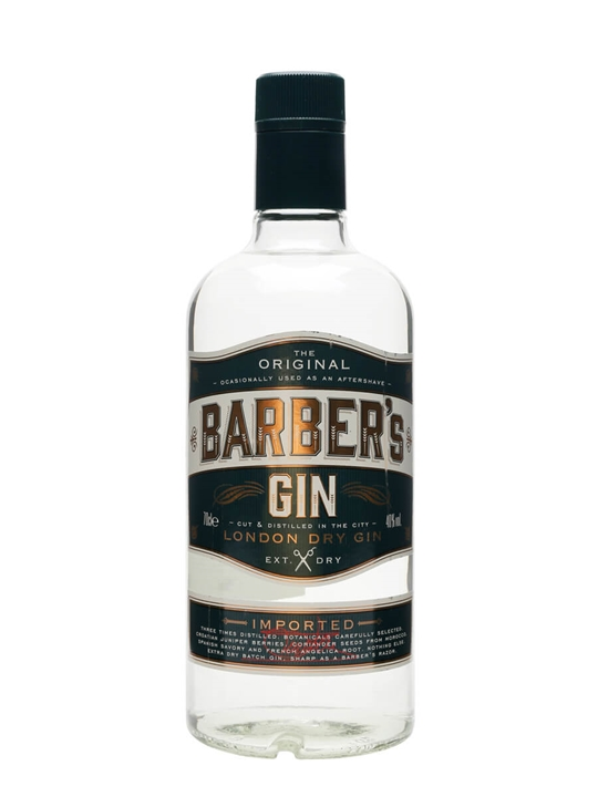 Barber S Gin Buy From The Whisky Exchange