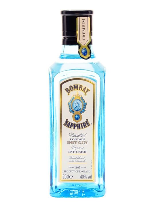 Bombay Sapphire Gin (40%) / Small Bottle