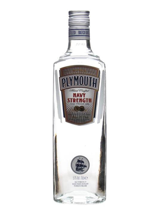 Plymouth Navy Strength Gin 70cl Old Presentation Buy